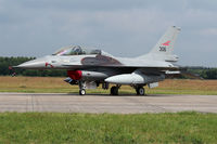 306 @ EHVK - Norwegian F-16BM 306 on the static of the Volkel Open House 2013 - by Nicpix Aviation Press  Erik op den Dries