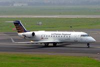 D-ACRK @ EDDL - Canadair CRJ-200LR [7901] (Lufthansa Regional) Dusseldorf~D 10/09/2005 - by Ray Barber