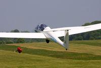 G-DEGN @ X3SI - Staffordshire Gliding Club, Seighford Airfield - by Chris Hall