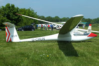 G-CHUN @ X3SI - Staffordshire Gliding Club, Seighford Airfield - by Chris Hall