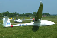 G-CHTM @ X3SI - Staffordshire Gliding Club, Seighford Airfield - by Chris Hall