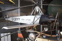 G-EBYY @ LFPB - Exibited at the AIR & SPACE MUSEUM , Le Bourget , Paris