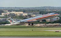 N592AA @ KSAT - departure from San Antonio IAP