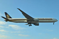 9V-SWS @ EGLL - Singapore Airlines - by Chris Hall
