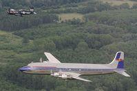 N996DM @ INFLIGHT - Flying Bulls Douglas DC6