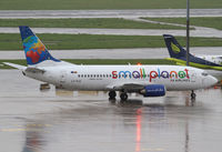 LY-FLE @ LOWW - Small Planet Airlines Boeing 737 - by Thomas Ranner