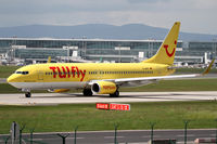 D-AHFP @ EDDF - TuiFly Boeing 737 - by Andreas Ranner
