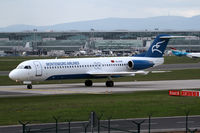 4O-AOK @ EDDF - Montenegro Airlines Fokker 100 - by Andreas Ranner