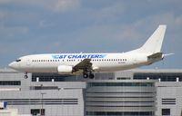 N916SK @ MIA - C and T Charters Bridge to Cuba (Sky King) 737-400