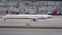 N928DN @ MIA - Delta MD-90