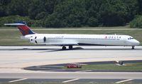 N933DN @ TPA - Delta MD-90