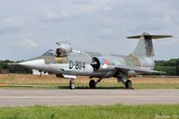 D-8114 @ EHVK - Last Dutch Starfighter on Static Display - by Jan Lefers