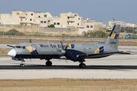 LX-WAO @ LMML - Bae ATP LX-WAO West Air Europe - by Raymond Zammit