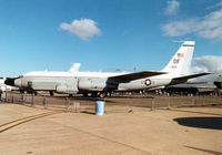 64-14845 @ MHZ - RC-135V Rivet Joint intelligence aircraft of Offutt AFB's 55 Wing on display at the 1997 RAF Mildenhall Air Fete. - by Peter Nicholson
