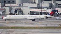 N958DN @ MIA - Delta MD-90