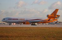 N986AR @ MIA - Centurion MD-11