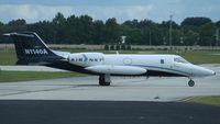 N1140A @ ORL - Air Net Lear 35 - by Florida Metal