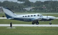 N1217J @ ORL - Cessna 414A - by Florida Metal