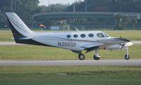 N2002P @ ORL - Cessna 335