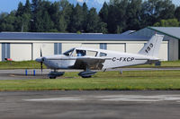 C-FXCP @ CYNJ - Ready to depart - by Guy Pambrun