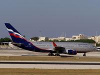 RA-96015 @ LMML - IL96 RA-96015 Aeroflot - by Raymond Zammit