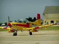 L-11 @ LMML - PC7 L-11 Royal Netherlands Air Force. - by Raymond Zammit