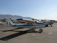 N1430M @ SZP - 1975 Cessna 182P SKYLANE, Continental O-470-S 230 Hp - by Doug Robertson