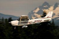 N1152Z @ KAWO - Landing 34 @ KAWO - by Terry Green
