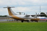 4K-AZ808 @ EDLN - Silkway Business Aviation ATR42 - by FerryPNL