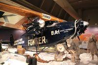 N4204 - Fokker F-VII Trimotor at Henry Ford Museum Dearborn MI