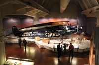 N4204 - Fokker F-VII Tri-motor at Henry Ford Museum - by Florida Metal