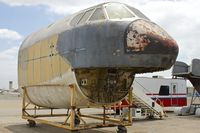 57-0042 @ KCNO - Nose stored At Yanks Air Museum , Chino - by Terry Fletcher