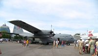 90-1793 @ KBKL - On display @ 2012 Cleve;and International Air Show - by Arthur Tanyel
