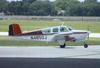 N4850J @ ORL - Beech V35 Bonanza