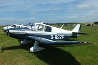 G-BSZF @ EGBT - Visitor at Turweston for the British F1 Grand Prix at Silverstone - by Chris Hall