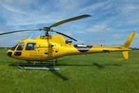 G-ORKI @ EGBT - being used for ferrying race fans to the British F1 Grand Prix at Silverstone - by Chris Hall