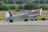 G-ATBU @ EGFH - Visiting Terrier 2. - by Roger Winser