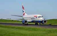 G-GFFG @ ELLX - taxying to the active