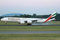 A6-ERC @ VIE - Emirates - by Joker767