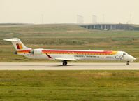 EC-JYV @ EDDP - Suddenly spanish colors were arriving on sunny rwy 26R..... - by Holger Zengler