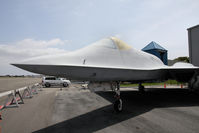 87-0801 @ TOA - the YF-23 is a quite big aircraft ! - by olivier Cortot