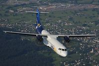 OE-LID @ INFLIGHT - Intersky ATR72