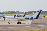 D-ESRA @ EGSH - Just landed at Norwich. - by Graham Reeve