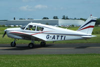 G-ATTI @ EGBW - at Wellesbourne Mountford - by Chris Hall