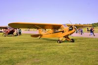 C-FOSI @ CYND - On display at the Vintage Wings of Canada Open House. - by Dirk Fierens