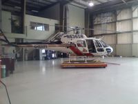 N636SB - sitting in hanger - by helicopter206