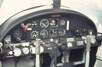 OO-TAP @ EBGT - cockpit  OO-TAP     1968 - by Raymond De Clercq
