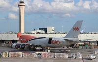 OO-THB @ MIA - TNT 747-400F