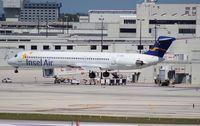 PJ-MDA @ MIA - Insel Air MD-83