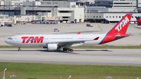 PT-MVA @ MIA - TAM A330-200